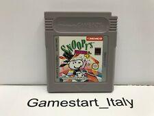 SNOOPY'S MAGIC SHOW - NINTENDO GAME BOY - USATO PERFETTAMENTE FUNZIONANTE GB