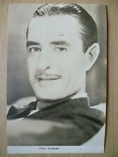 Film Actors Postcard- JOHN GILBERT ''Film Weekly, London''