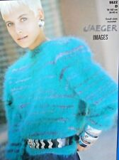 """JAEGER Knitting Pattern 5522 - Ladies Mohair Sweater 30""""-40"""" - Not a copy"""