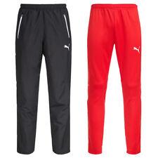 PUMA Herren Trainingshose Fitness Sport Hose Pant Teamwear schwarz rot neu