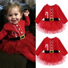 Babykleid Rot Tütü Weihnachten Weihnachtskostüm Baby Weihnachtskleid Festkleid
