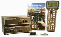 NCE 524006 PH-10 w PRO CAB 10 Amp Starter Set w D408SR Decoder S O G Scale NCE6
