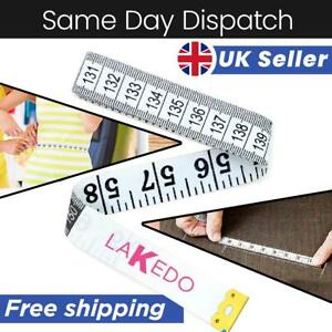 """Measuring Tape Roller Sewing Body Ruler Tailor Seamstress Soft Measure 60"""" 5ft"""