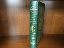 Easton Press-Life on the Mississippi by Twain-Masterpieces of American Lit.-VG++
