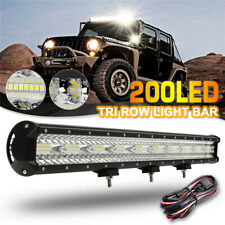 29inch LED Light Bar Spot Beam Triple Row Work Driving Lamp 4WD SUV 28""