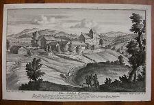 J. M. FÜSSLI `LOMMIS, BURG SPIEGELBERG, THURGAU, SCHWEIZ` BEI J. WOLFF ~1720