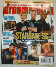 Dreamwatch Magazine Stargate Sg-1 & Lord Of The Rings November 2003 040215R