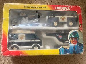 Vintage Buddy L Police Department Set