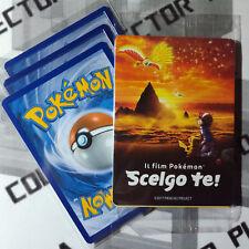 Pacchetto x3 carte POKEMON SM Promo PIKACHU DI ASH Film Scelgo te ITALIANO Busta