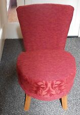 Unbranded Fabric Bedroom Vintage/Retro Chairs