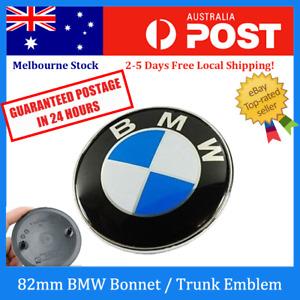 82mm BMW Boot / Trunk / Bonnet / Hood Badge Emblem for E38 E39 E46 E60 E90 X5