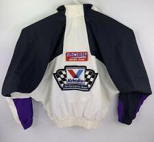 Brickyard 400 Budweiser Racing Team Inaugural Race Batwing Jacket Mens Adult