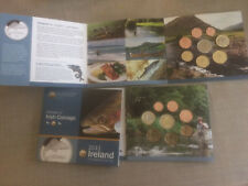 Coffret Neuf officiel BU 8 pièces Irlande 2011 « Animals of Irish coinage »