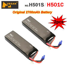 Hubsan H501s FPV Quadcopter Drone 7.4v 2700mah Lipo 10c Battery Spare Parts BYT