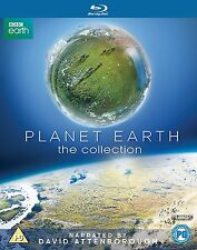 David Attenborough Planet Earth 1 + 2 Complete BBC Series I + II Blu ray RB New