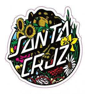 SANTA CRUZ Dressen Pup Dot Skate Sticker / Skateboard