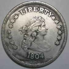 The United States can sounded foreign currency silver dollar Morgan yuan 1804