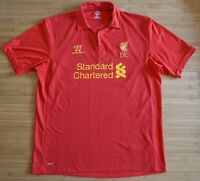 Liverpool 2012/2013 Football Soccer Jersey Shirt Home Maglia Warrior England