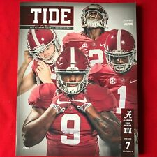2017 Alabama (56)  vs Mercer (0) Game Day Program 11/18/2017 NEW - SCOTT