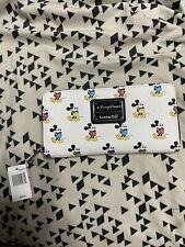 Disney Park Authentic Loungefly Wallet Mickey Mouse Classic Pose Rainbow