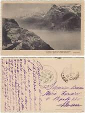 POESIA VERSI DI STECCHETTI SU CARTOLINA 1916 FRANCHIGIA POSTA MILITARE