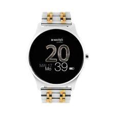 Smartwatch Uhr Damen Fitnesstracker für Android iOS Joli X-WATCH Silber