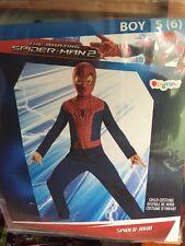 New Boys Spider-Man Costume, Small 6