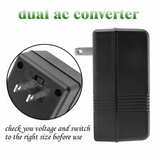 100W Power Converter Adapter 110V/120V To 220V/240V Dual Voltage Converter HP