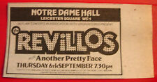 "The Revillos/Another Pretty Face Gig Vintage ORIG 1979 Press/Mag ADVERT 4""x 2"""