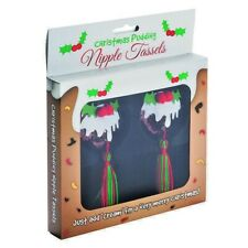 Christmas Pudding Nipple Tassels