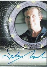 Stargate SG-1 Season 10 Autograph Card A111 John Novak as Col. Ronson