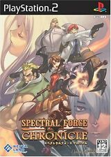 Used PS2 Spectral Force Chronicle Japan Import (Free Shipping)