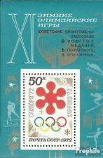 Sovjet-Unie Blok 75 postfris 1972 Medaille Olympia ´72