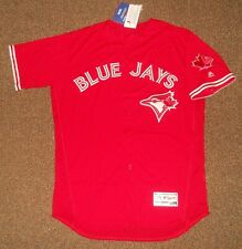 Toronto Blue Jays Red Authentic Flex Base Jersey sz 48 Majestic New w/ tags Mens
