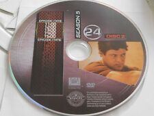24 Fifth Season 5 Disc 2 DVD Disc Only 48-184