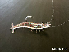 Lures-Pro-4 pcs Fishing Lures Baits Hooks Tackles SHRIMP Saltwater