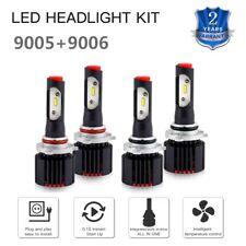 9005 + 9006 LED Headlight For Mitsubishi Lancer 2008-2017 Hi Low Beam Bulbs Kit