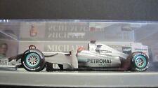1:43 MINICHAMPS MICHAEL SCHUMACHER MERCEDES GP PETRONAS SHOWCAR 2010