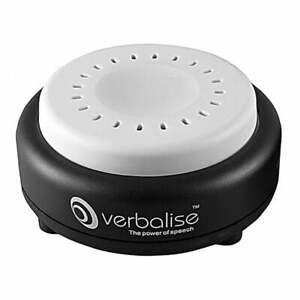 Verbalise Radio Controlled Talking Recordable Reminder Clock, Black