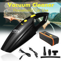 120W 12V Car Auto Mini Portable Home Handheld Vacuum Cleaner Wet Dry Dust Duster