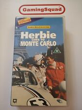 Herbie Goes to Monte Carlo VHS Video Retro, Supplied by Gaming Squad