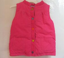 Girls Carter's Fall Winter Vest Pink Size 6X