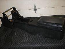1982-92 CAMARO FIREBIRD IROC BLACK RUG RUGGED  CONSOLE + ARMREST