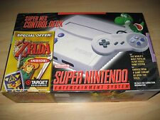 Super Nintendo SNES Slim Mini Game Console Zelda Bundle Brand New
