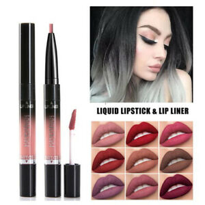 14Color HANDAIYAN Matte Lipstick Waterproof Lip Gloss Liquid Long Lasting Makeup