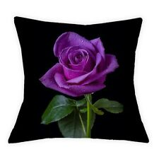 17''3D Rose Printed Cushion Cover Red/Yellow/Pink/While rose Throw Pillowcase