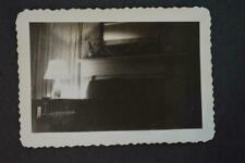 Unusual Vintage Photo Dark Noir Interior Lamp Light Still Life 969003
