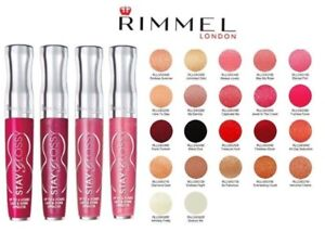 Rimmel Stay Glossy 6 Hour Lipgloss Lip Gloss Pick A Color