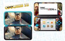 AVENGERS CAPITAIN - vinyl Skin Aufkleber für Nintendo NEW 2DS XL - réf 182