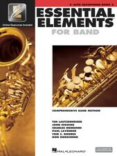 New Essential Elements for Band: Eb Alto Saxophone Book 2 with EEi - Band Method